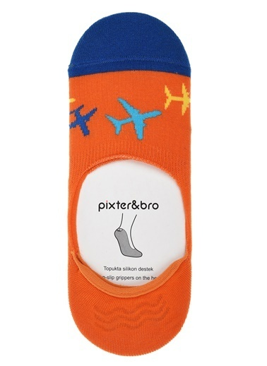 Pixter&Bro Pixter&Bro Tekli Çorap Oranj